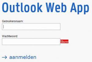 uGent webmail inloggen OWA Web App