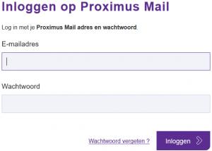 Belgacom webmail inloggen