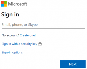 Hotmail Sign-in
